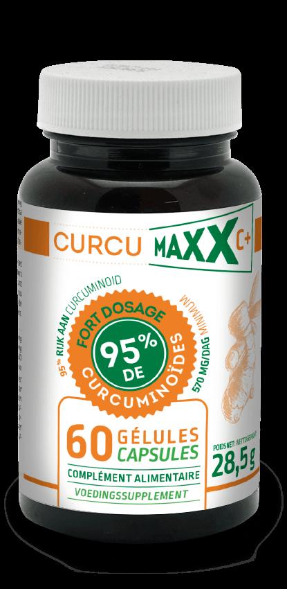Curcumaxx pilulier de 60 gélules BIO
