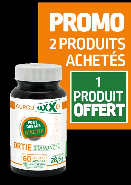 Curcumaxx pilulier 60 gélules orties PROMO