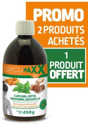 Curcumaxx 500 ml ortie - curcuma - gingembre - boswellia PROMO