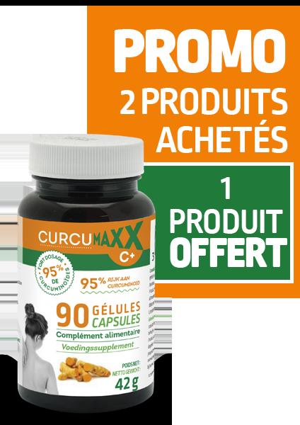 Curcumaxx pilulier de 90 gélules PROMO