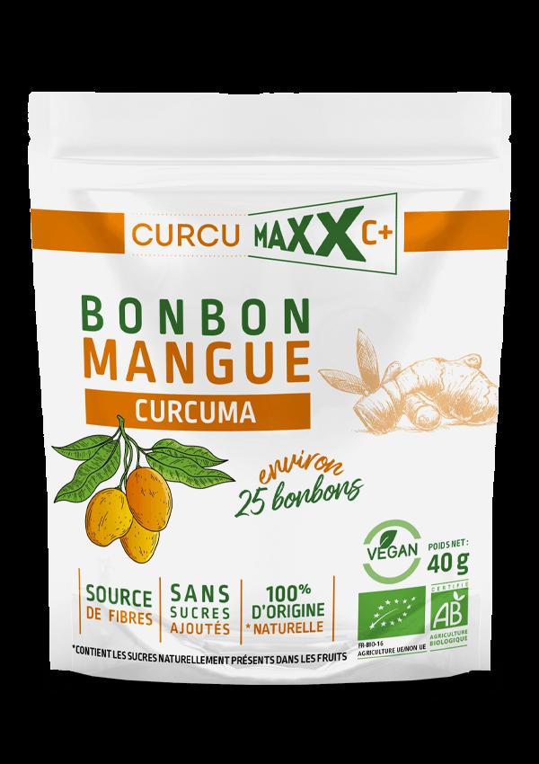 Bonbon mangue curcuma CURCUMAXX