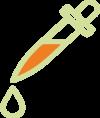 pipette curcuma
